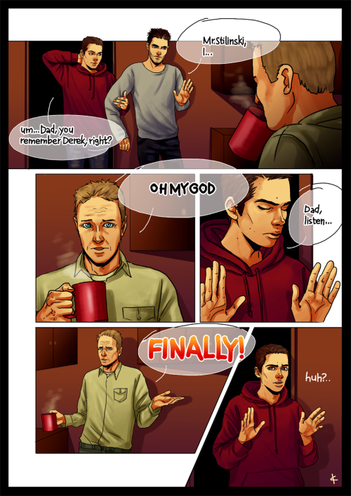 In which Stiles wanted to tell his dad about werewolves…