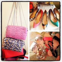 Checking out Spring '13 Loeffler Randall - cutest accessories!
