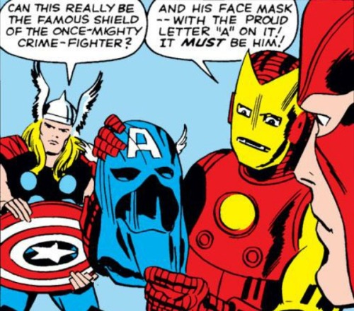marvelentertainment:   MARVEL PANEL OF THE DAY From: Avengers (1963) #4 Well, that's good enough for us.