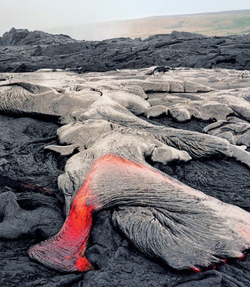 Hawaii's Big Island Landscapes, Lava Fields, and Beaches | Lava from Mt. Kilauea