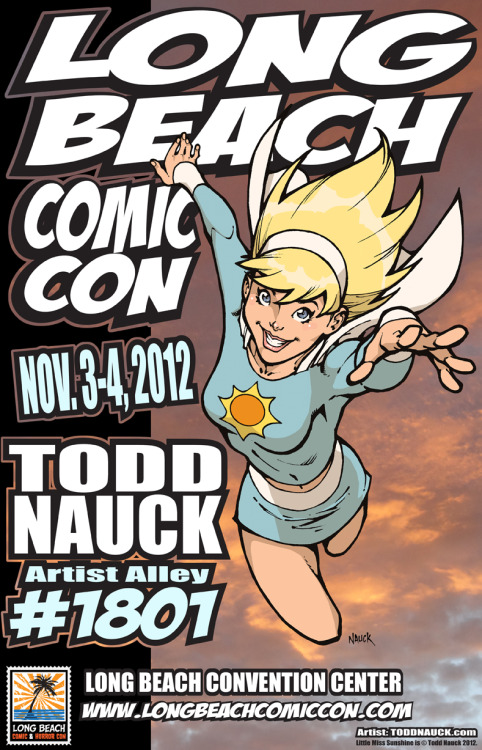 I'll be at the Long Beach Comic Con  this Sat-Sun, Nov 3-4, 2012.You can find me in Artists Alley at table #1801.I'll have original art, prints, and sketchbooks for sale. I'll also be drawing commission sketches. I do not take a list, so get to my table early to beat the line!