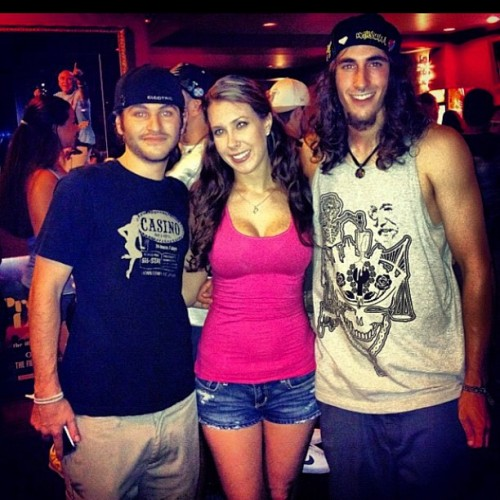 Me my boy Andrew and our friend Ricki at pretty lights acouple weeks ago, good friends mean good times #Friends #PrettyLights #Smile #MyFamilyIsMyFriends #IgDaily #IGhub #IGfun #Self