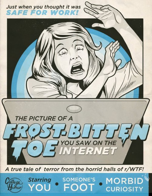 6 Real Life Horror Movie Posters [Click for more]