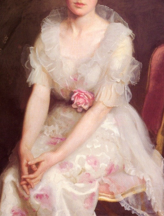 wink-smile-pout:   Portrait of Louise Converse by William Paxton in 1915