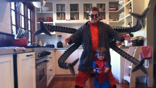 Patton Oswalt [SF90s] as Doctor Octopus.