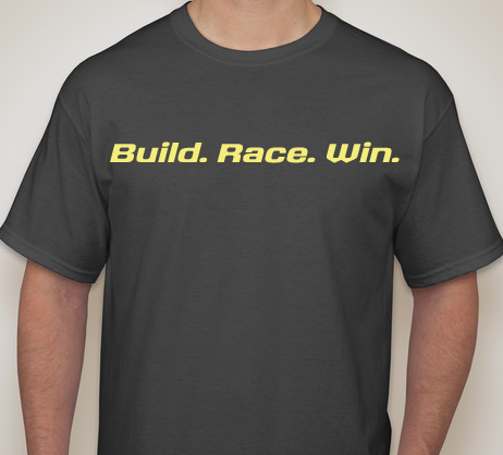 Submit your build, race or win photos and get this t-shirt!!