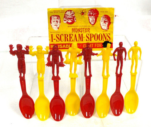 Another look at the Monster I-Scream Spoons (1960s)