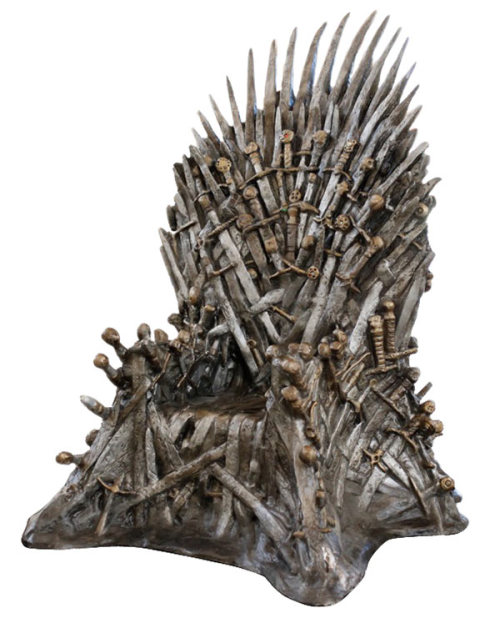 Buy the throne from Game of Thrones. Ned Stark not included.