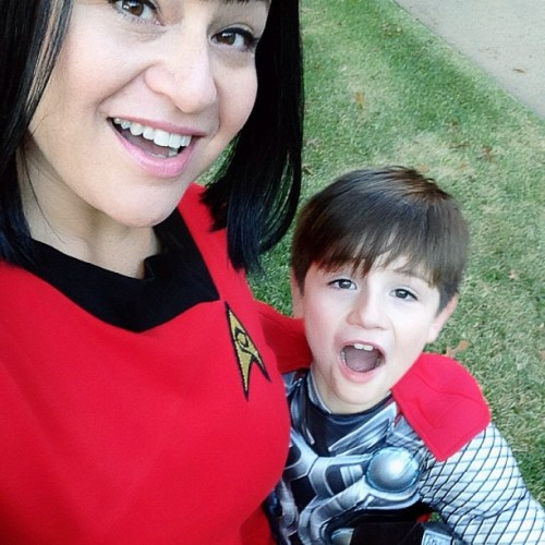 The #BeauAndZaneShow today features #StarTrek and #Avengers #cosplay - Posted using Mobypicture.com