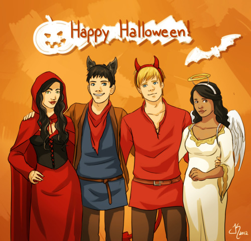 Happy Halloween Everyone! ♥