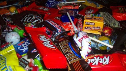 Turn Halloween candy wrappers into cash for schools and moreTerracycle's Candy Wrapper Brigade collects empty candy wrappers, donates money or charitable gifts to the organizations that send them in, and turns the waste into new items.