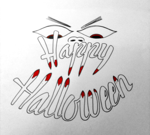 Happy Halloween all you ghoulish people.