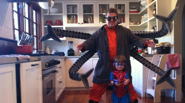 (via Here's Patton Oswalt's Halloween costume | Comedy | Great Job, Internet! | The A.V. Club) Patton Oswalt is Doc Ock, bitches.