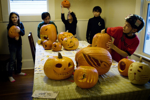 many pumpkins by cowboy_montgomery on Flickr.Happy Halloween