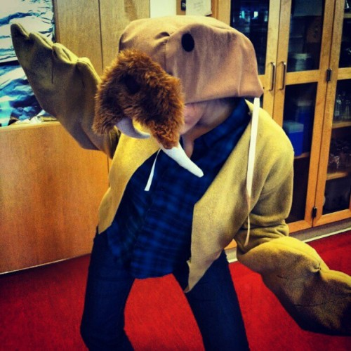 I AM THE WALRUS! #Halloween #coocoocachoo (at UCSF Mission Bay)