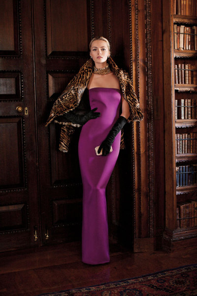 ralphlauren:   Ralph Lauren Collection Fall 2012  This season's heroine is defined by a strength and boldness of character that transcends time.
