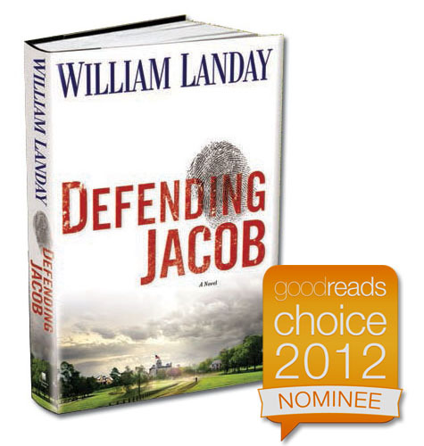 Defending Jacob has been nominated for a Goodreads Choice Award, as has its author. If you're a Goodreads member (and if you're a reader, you ought to be), please vote here.