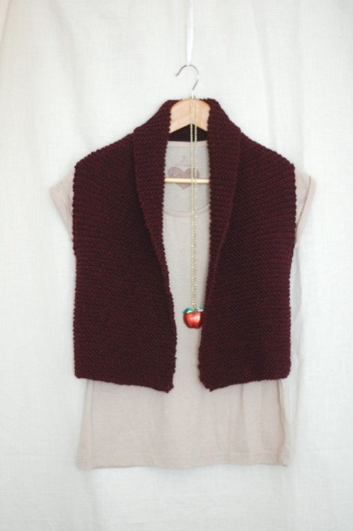 (via Coze: Easy Knit Vest Pattern – Laylock Knitwear Design)