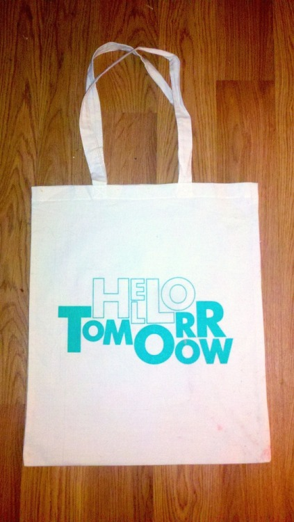 """Tote-ally kewl"" might be your response when you find out that we're now selling our limited edition tote bag on the internet! You might then consider purchasing one and wearing it at the farmers' market, bus stop, or night clurb.  We are selling the tote and a magazine together for a discount! Now is your chance for relevant conspicuous consumption."