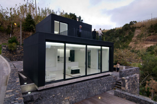 freshome:  Modern Weekend Retreat With Privileged Views In The Azores, Portugal