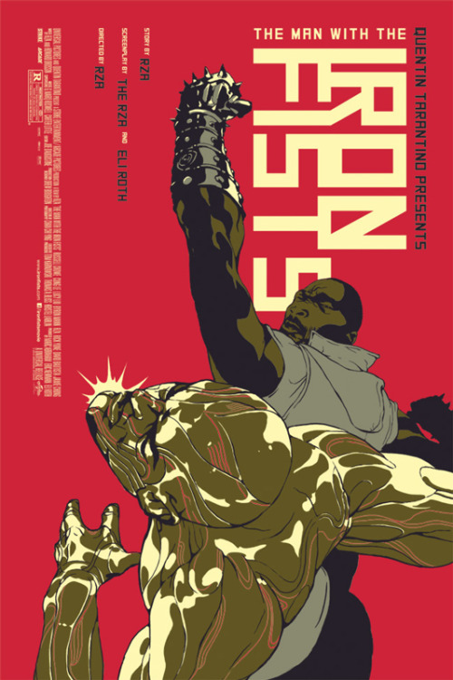 lewisbowes:  The Man With The Iron Fists Mondo Mondo