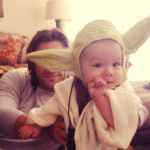 Jared and Thomas (baby yoda) [x]