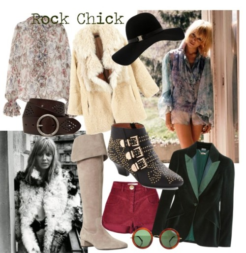 Why not take inspiration from legendary rock chick Anita Pallenberg?