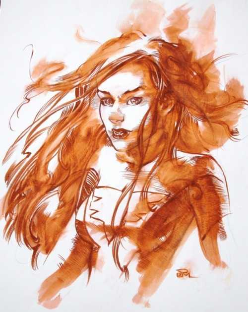 awyeahcomics:  Jean Grey by Joshua Middleton