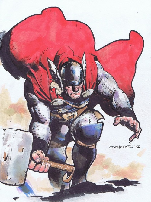 awyeahcomics:  Thor by Cary Nord