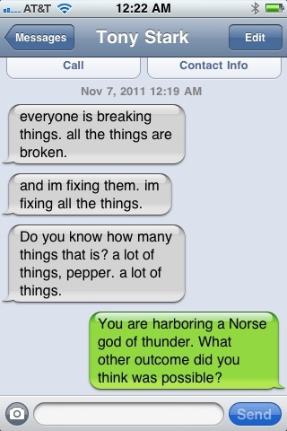 starry-eyed-dreamer-girl:  texts from tony.