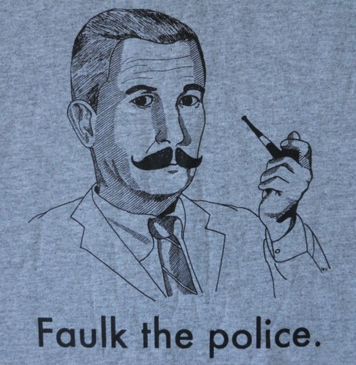 Faulk the police. on Flickr.