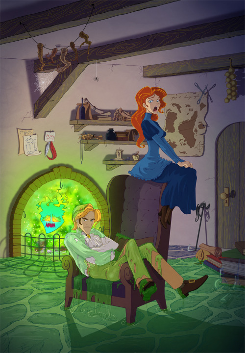 fuckyeahbookhowl:  Happily ever after by StasySolitude