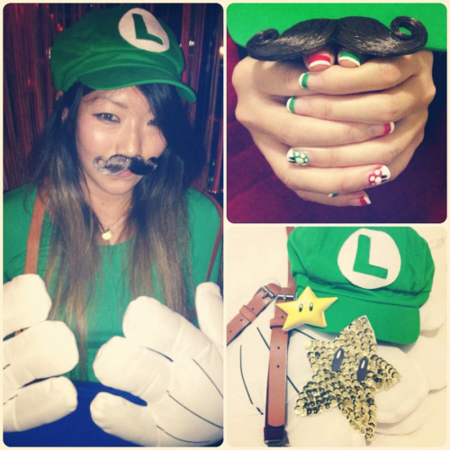 GPOYW: It'sa Luigi! Halloween edition