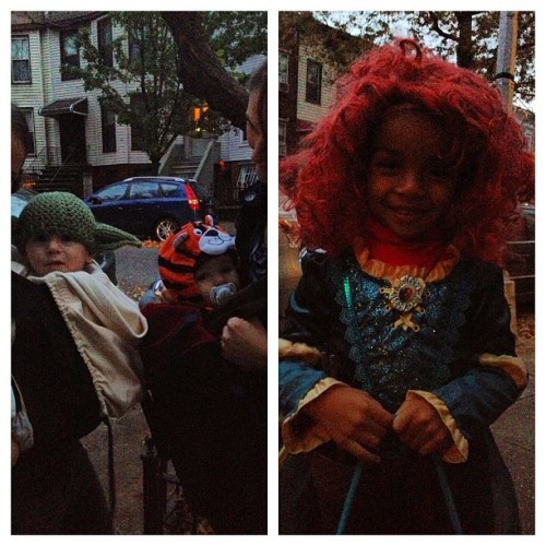 I am neighbors with Yoda, Tigger and Merida!! My neighborhood is the best!