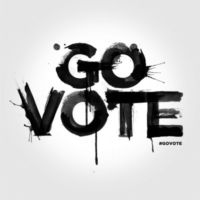 Spectacular #GoVote watercolor by Craig Ward. TODAY IS ELECTION DAY! Click here to find your polling station and share these images with your friends to make sure they #GoVote as well. For more #govote images and to submit your own go to: govote.org