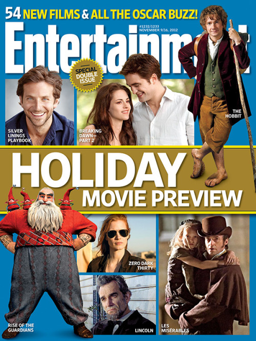 This week in EW: Our massive holiday movie preview will not be delayed, come hell, high water… or both, as the case may be.