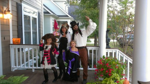 Weston family halloween! Yay!