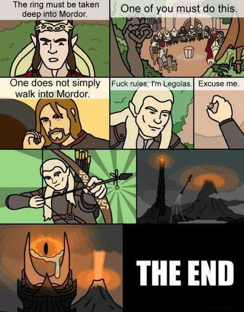 "Lord of the rings ""resumed"" version Whispers"