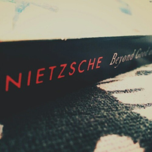 I am excited to read this! #Nietzsche #beyondgoodandevil #personal #photo #igerscanada #uvic