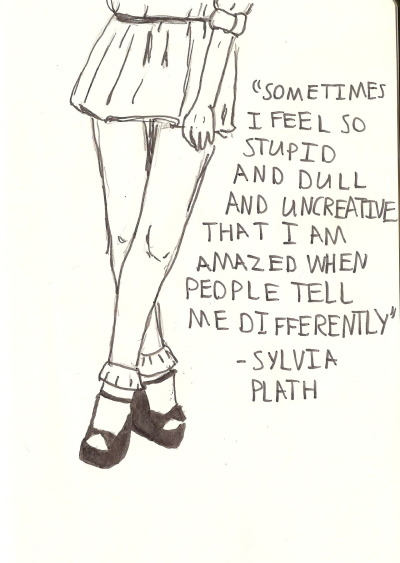 allmymetaphors:  happy late birthday to Sylvia Plath!!!!