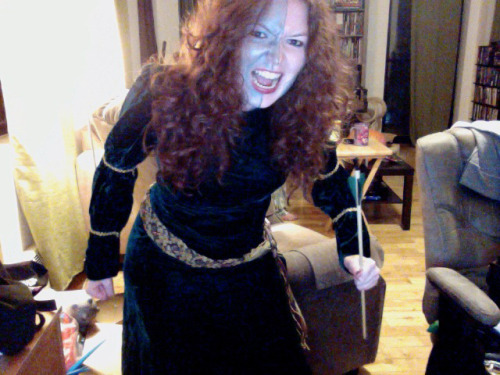 My Halloween costume: William Merida Wallace (Brave Heart)