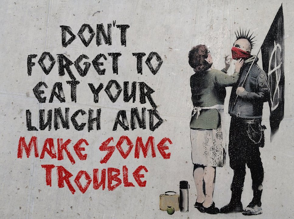rebel6:  Banksy