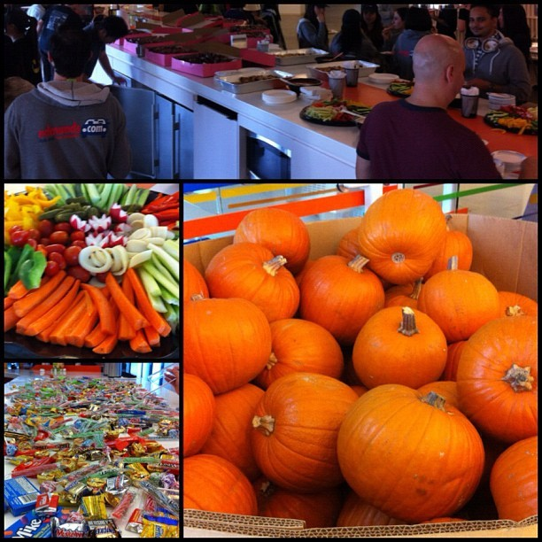 The annual Edmunds costume contest took place today along with food, pumpkin decorating and way too much candy! Happy and safe Halloween everyone! #edmundsinc #askthecarpeople #halloween #pumpkins #happyhour #candy #trickortreat