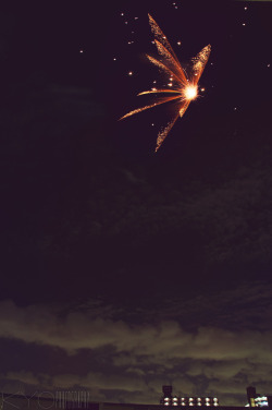 fuckyeahphotography:  Butterfire. Taken during summer here in Japan, fireworks festival is already a part of the season. :) Photo by http://kyokphotography.tumblr.com/ Follow and support!