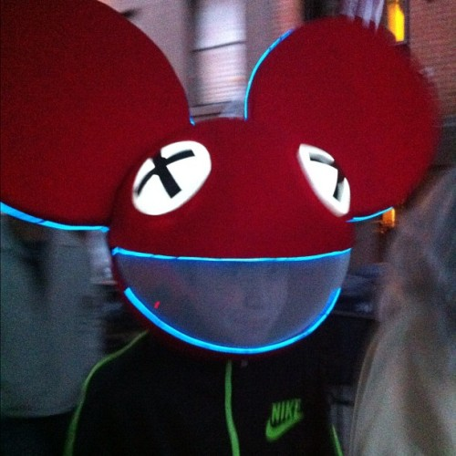 deadmau5 #halloween  (at Cobble Hill)