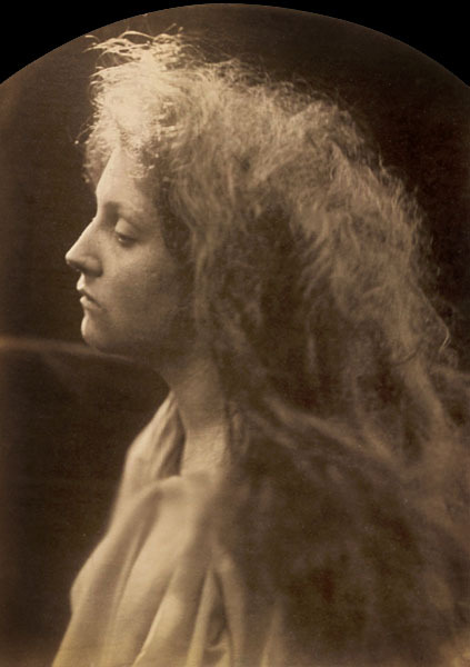 the angel at the tomb julia margaret cameron. 1870.
