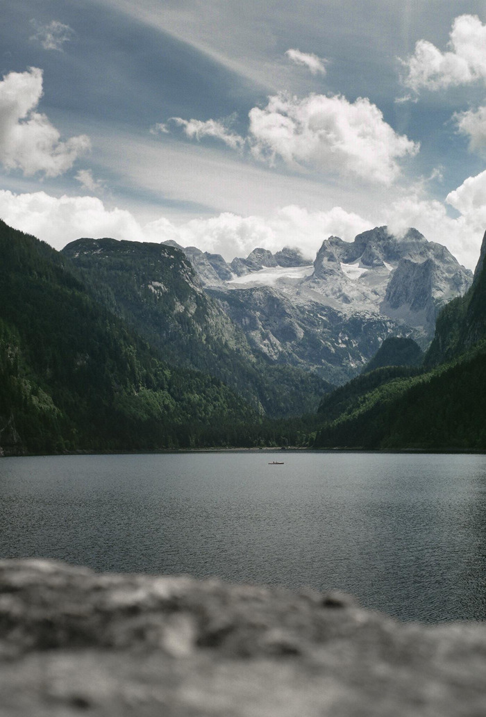 aachanel:  centzo:  Vorderer Gosausee By Blunzntischler  i wish i was there right now