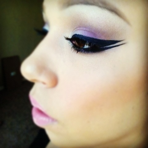 Love Celeste R.'s double winged eyeliner!