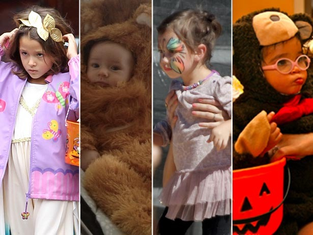 "Celeb babies in costumes.  All together now — ""Awwwwww!"""