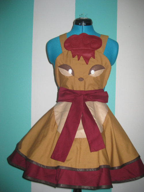 pmaryam:  vulpix-inspired cosplay pinafore i'm obsessed with this etsy